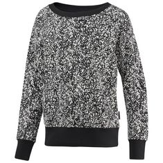 Reebok Crewneck Speckled Print Sweatshirt Damen Multicolor/White