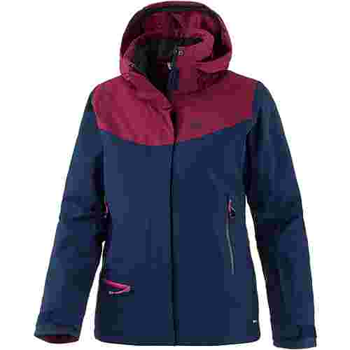 Salomon QST SNOW Skijacke Damen Medieval Blue/Beet Red