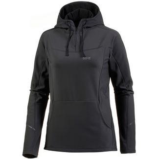 GORE® WEAR R3 Laufhoodie Damen terra grey-black