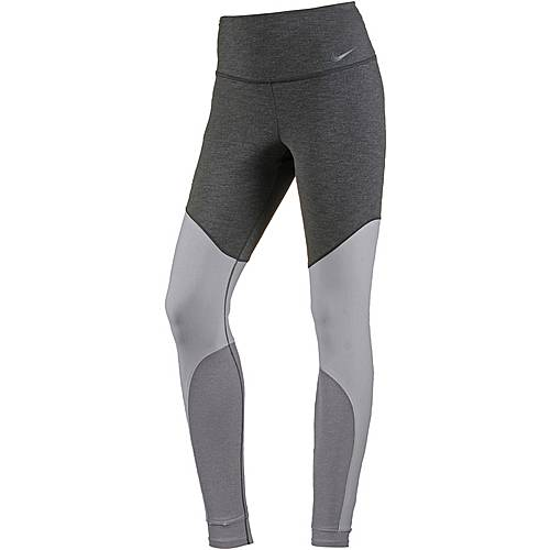 Nike Power Sculpted Tights Damen black-heather-black