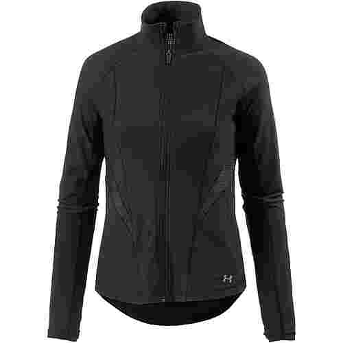 Under Armour Threadborne Balance Trainingsjacke Damen black-black-tonal