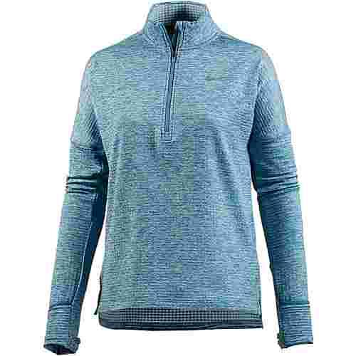 Nike Therma Sphere Element Laufshirt Damen noise aqua-heather-ocean bliss