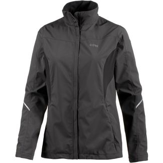 GORE® WEAR R3 Partial Windstopper Laufjacke Damen terra grey-black