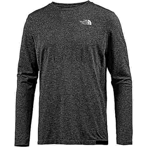 The North Face Summit L1 Funktionsshirt Herren tnf black heather-tnf black