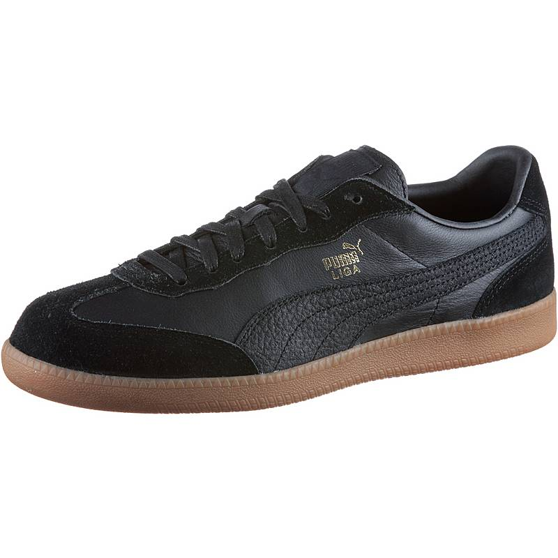 PUMALiga Leather  SneakerHerren  Puma BlackPuma Black