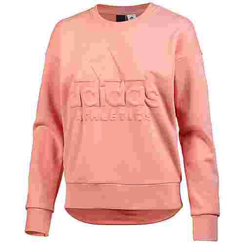 adidas Sport ID Sweatshirt Damen trace pink