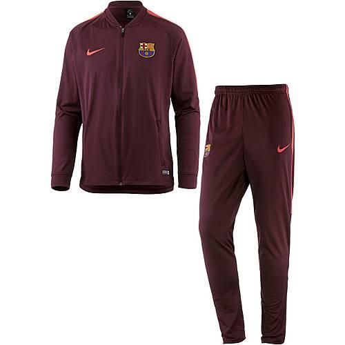 Nike FC Barcelona Trainingsanzug Herren night maroon/night maroon/hyper crimson