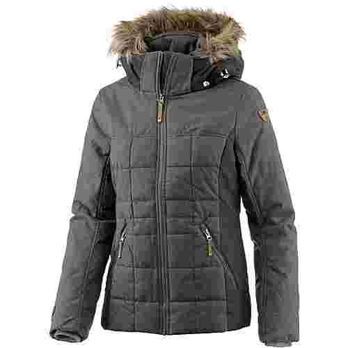 ICEPEAK Teela Winterjacke Damen lead grey