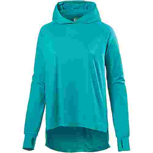 ASICS THERMOPOLIS Laufhoodie Damen lake blue heather