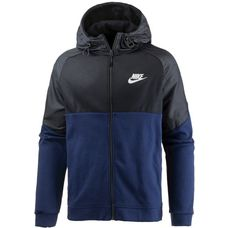 Nike NSW AV15 Sweatjacke Herren binary-blue-black-white