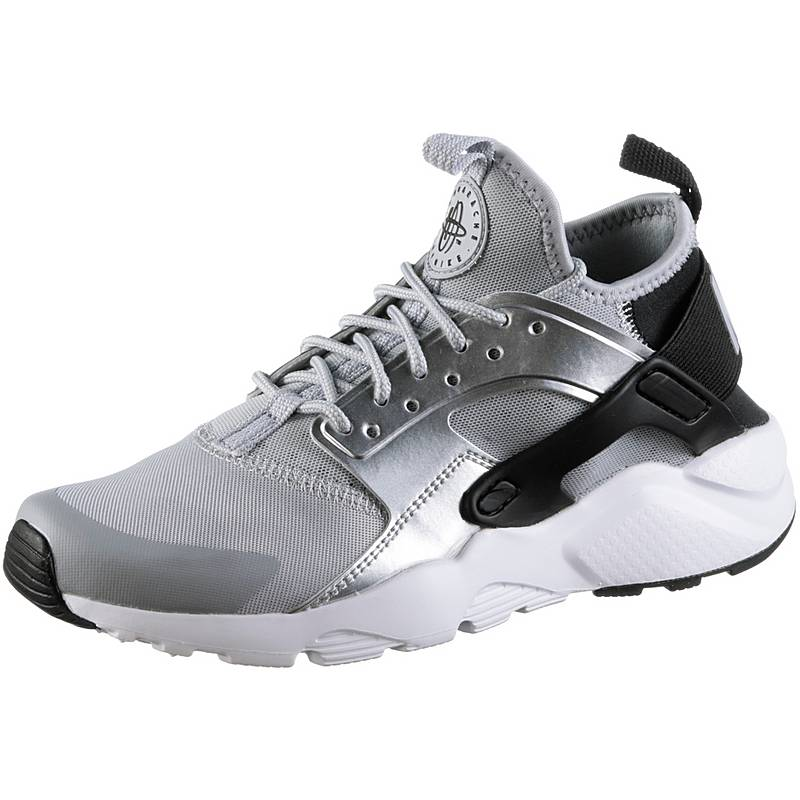 sale retailer 76f83 93d0b Nike Air Huarache Run Ultra Sneaker Kinder black-wolf-grey-metallic-silver