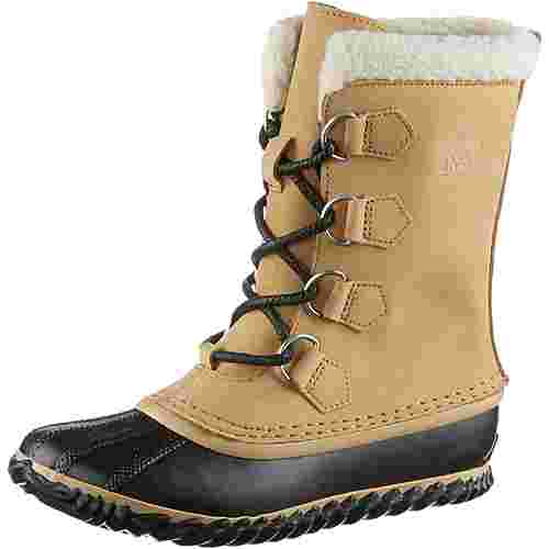 Sorel Caribou Slim Winterschuhe Damen curry-black