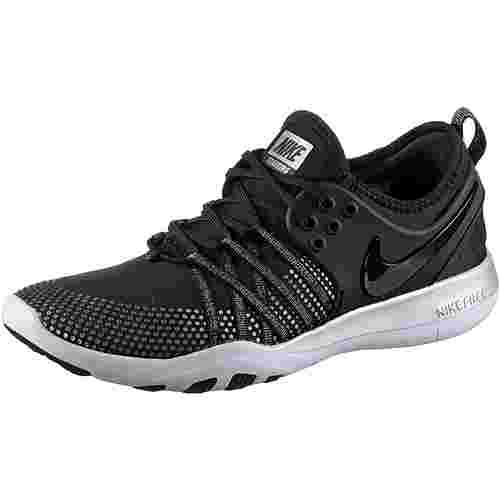 nike free tr 7 fitnessschuhe damen black black pure. Black Bedroom Furniture Sets. Home Design Ideas