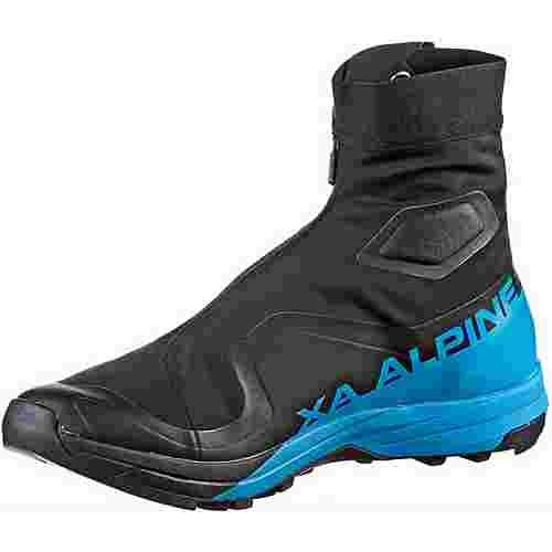 Salomon S/LAB XA ALPINE 2 Trailrunning Schuhe black-transcend blue-racing red