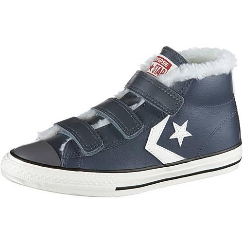 CONVERSE Sneaker Kinder sharkskin-egret-terra-red
