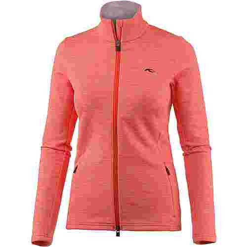 KJUS Calienta Fleecejacke Damen spicy orange