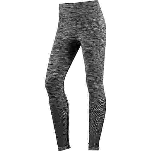 unifit Seamless Tights Damen schwarz melange