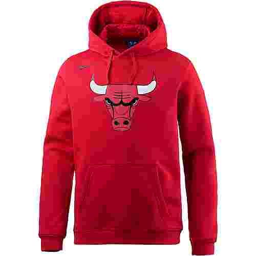 Nike CHICAGO BULLS Hoodie Herren UNIVERSITY RED/UNIVERSITY RED