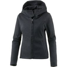 Bench KNIT HOODY Strickfleece Damen BLACK BEAUTY