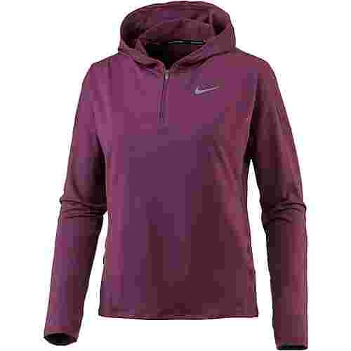Nike Dry Element Laufhoodie Damen tea berry