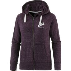Nike Gym Vintage Sweatjacke Damen port wine-sail