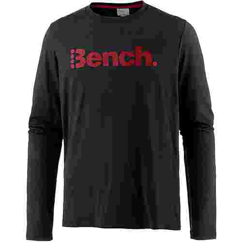 Bench CORP L/S Langarmshirt Herren BLACK BEAUTY
