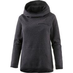 Nike Hoodie Damen black heather-black
