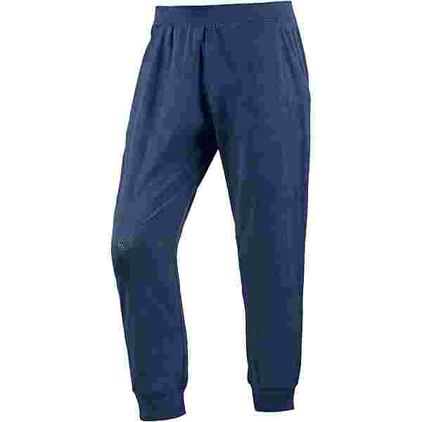 Under Armour Threadborne Balance Mesh Loose Trainingshose Damen academy-formation blue-tonal