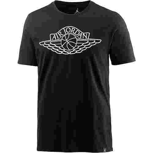 Nike M JSW TEE BRAND 5 T-Shirt Herren black-white