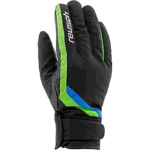 Reusch Verve Skihandschuhe black-neon green