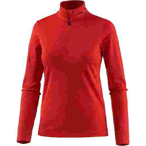 KJUS Feel Funktionsshirt Damen persian red