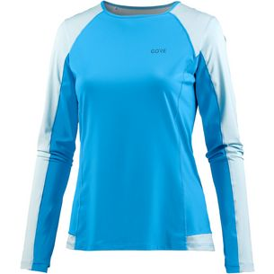 GORE® WEAR R5 Laufshirt Damen dynamic cyan-ciel blue