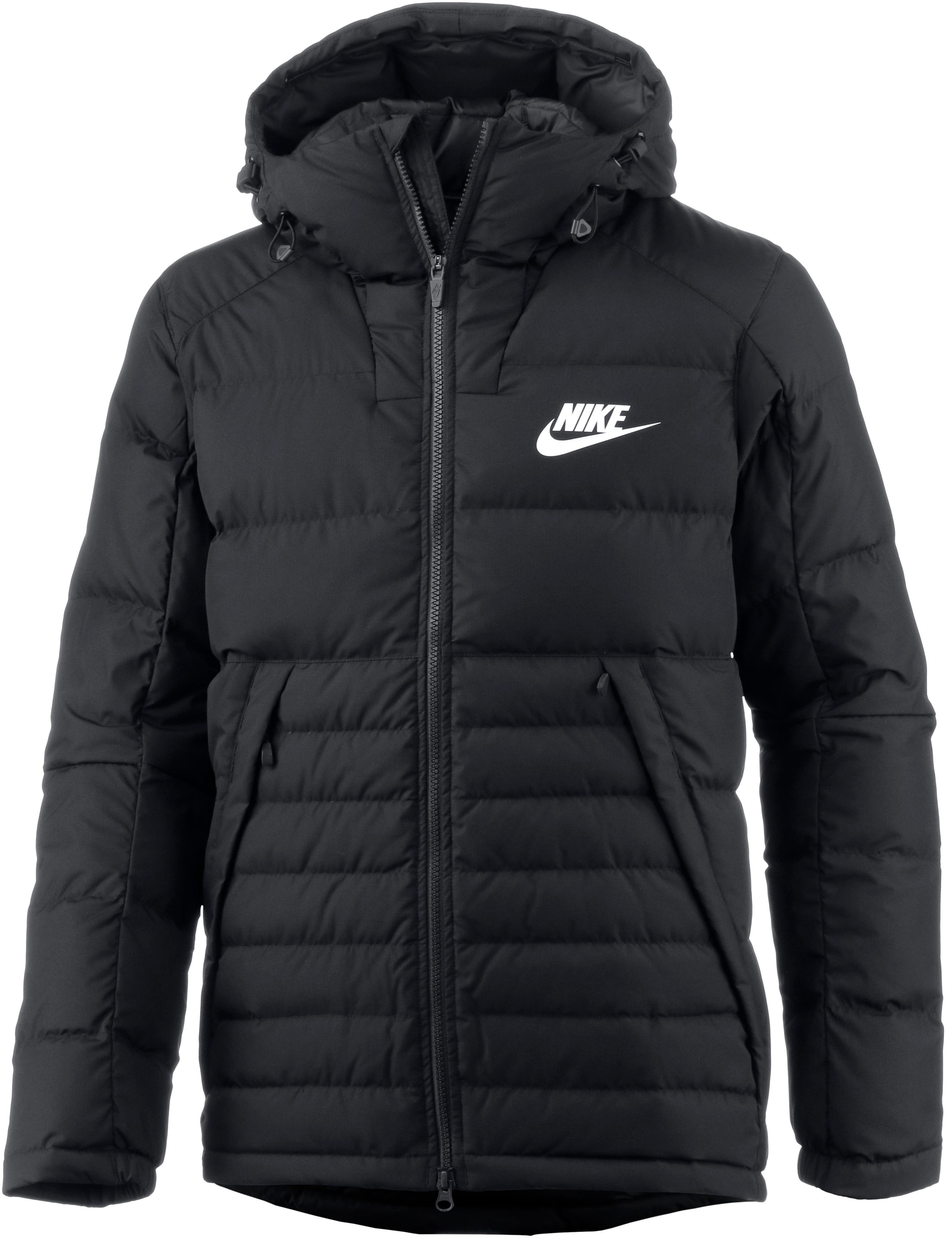 Nike Daunenjacke Herren black white im Online Shop von SportScheck kaufen