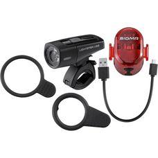 SIGMA LIGHTSTER USB / NUGGET  II Fahrradbeleuchtung black