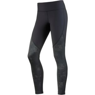Under Armour Threadborne Balance Mesh Tights Damen black-black-tonal