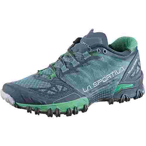 La Sportiva Bushido Mountain Running Schuhe Damen slate-jade green