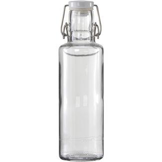 soulbottles Einfach nur Wasser Trinkflasche transparent