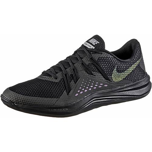 Nike Lunar Exceed TR Fitnessschuhe Damen black-black-metallic silver