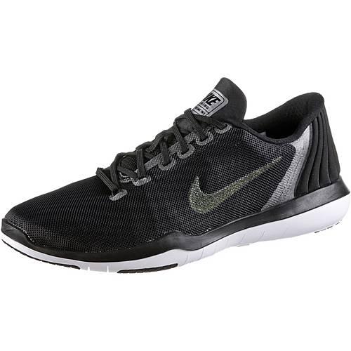 Nike Fitnessschuhe Damen black-dark grey