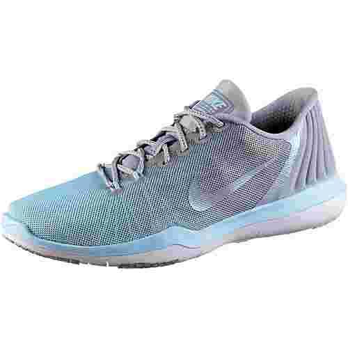 Nike Fitnessschuhe Damen wolf grey-glacier blue-white
