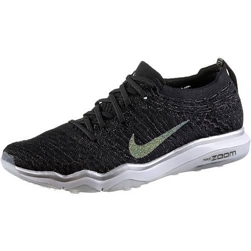 Nike Fitnessschuhe Damen black-dark grey-metallic silver