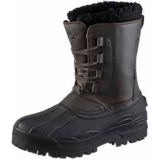 OCK Sibirien Winterschuhe brown-black