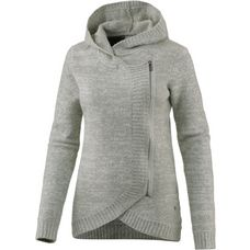 Bench Strickjacke Damen winter grey marl