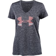 Under Armour Tech T-Shirt Damen midnight navy/cape coral