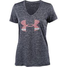 Under Armour Tech T-Shirt Damen midnight navy/cape coral