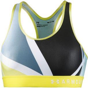 Under Armour Armour Mid Keyhole Sport-BH Damen tokyo lemon-tokyo lemon-white