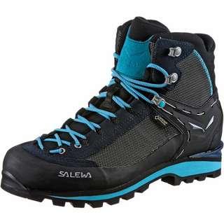 SALEWA GTX CROW Alpine Bergschuhe Damen premium navy-ethernal blue