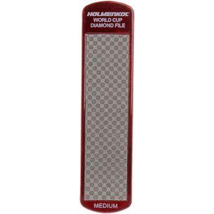 HOLMENKOL Diamond File World Cup Medium Werkzeug rot-grau