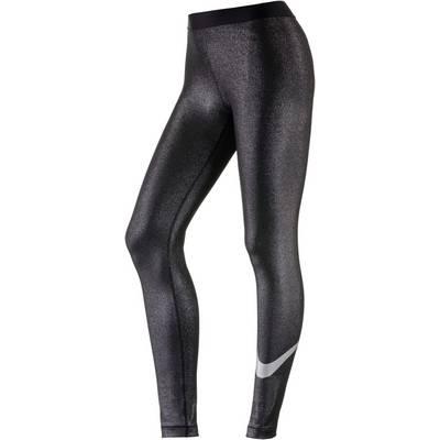 Nike Pro Cool Tights Damen black-silver