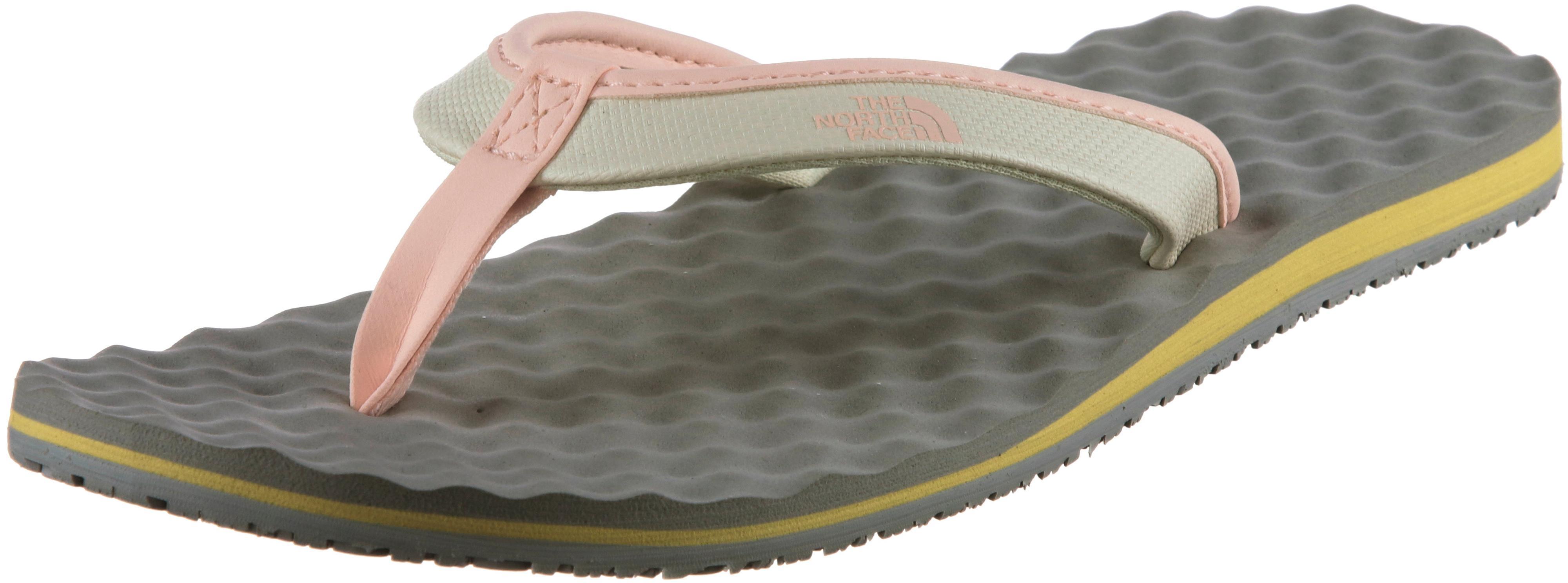 The North Face Base Camp Mini Zehentrenner Damen vintage Weiß-evening sand Rosa im Online Shop von SportScheck kaufen Gute Qualität beliebte Schuhe